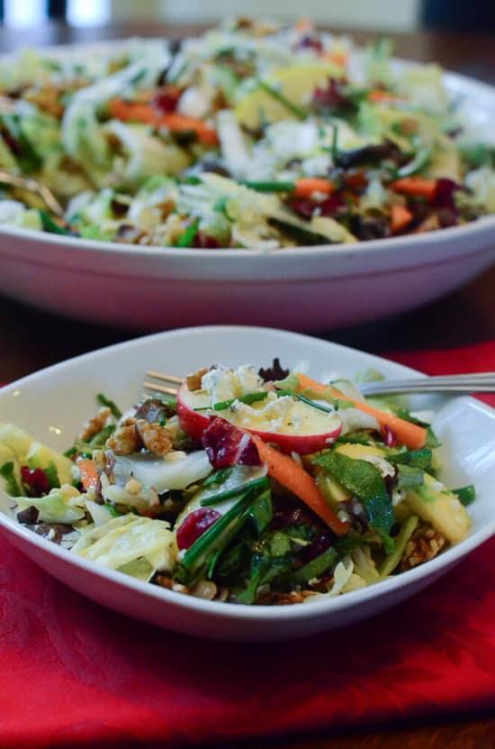 Apple Cabbage Salad