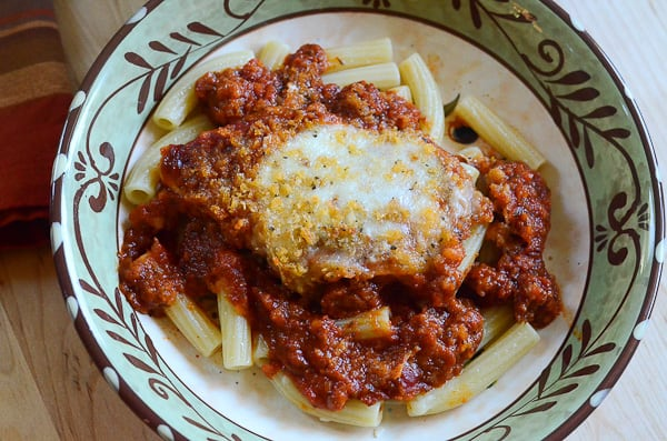 Skillet Chicken Parmesan Valeries Kitchen