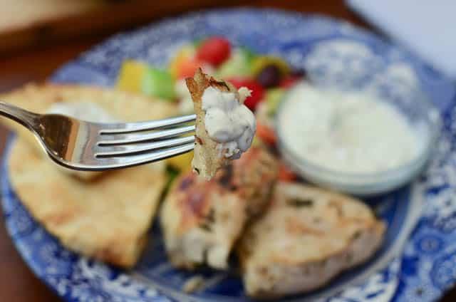 Grilled Greek Chicken with Tzatziki Sauce