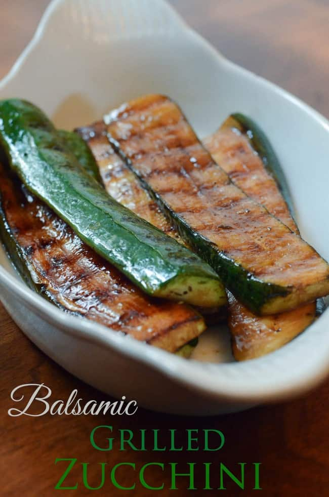 Balsamic Grilled Zucchuni