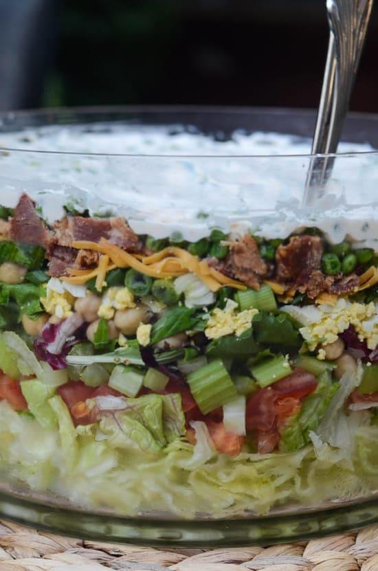 Classic Layered Salad