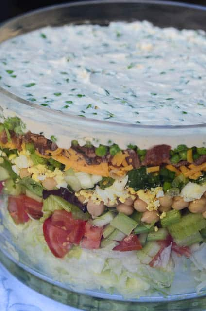 Classic Layered Salad 123