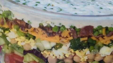 classic layered salad valerie s kitchen