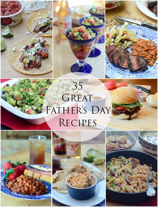 35 Great Father's Day Recipes