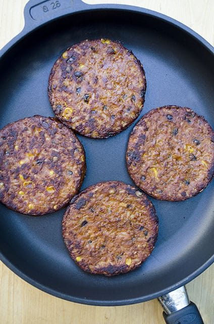 Black Bean Burger Bowls 058