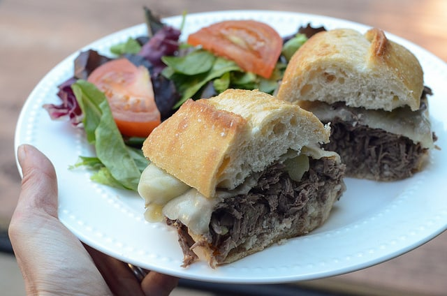 Crock-Pot Italian Beef Sandwiches