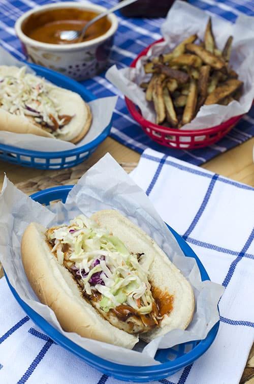 Zesty BBQ Chicken Sandwiches 140