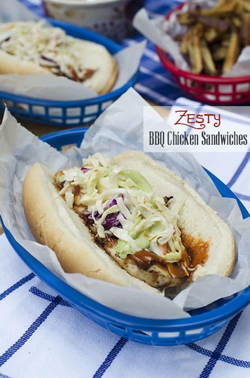Zesty BBQ Chicken Sandwiches 141 (titled)