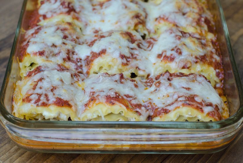 Chicken Pesto Lasagna Rollups-065