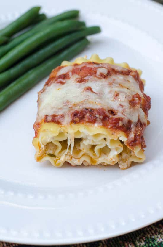 Chicken Pesto Lasagna Rollups-071