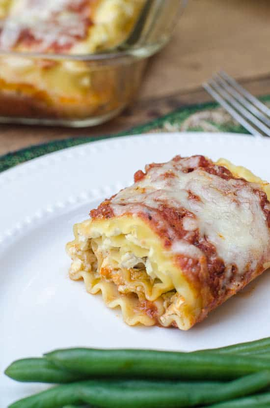 Chicken Pesto Lasagna Rollups-081