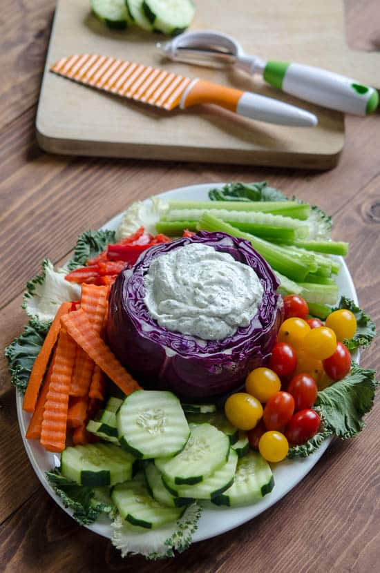 Crisp Veggie Tray-100