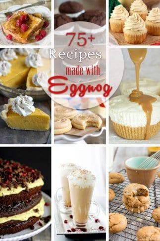 75+ Recipes Made With Eggnog