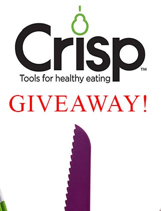 Crisp Cooking Tools for Healthy Eating Giveaway!