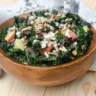 Winter Kale Chopped Salad