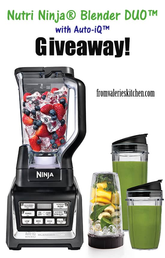 Nutri Ninja Blender Duo #Giveaway!
