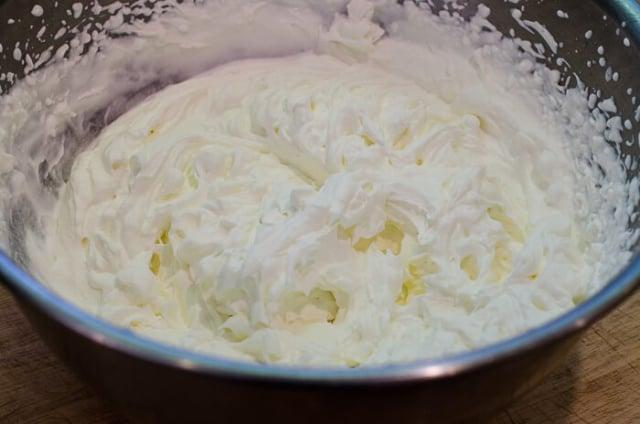 Creme de Menthe Whipped Cream