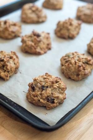 Soft-Bake Muesli Breakfast Cookies