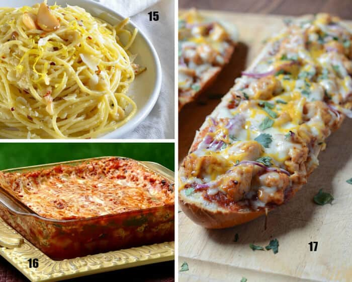 College Recipes - Main Dishes