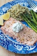 Salmon-Baked-in-Foil-with-Garlic-Butter-Sauce