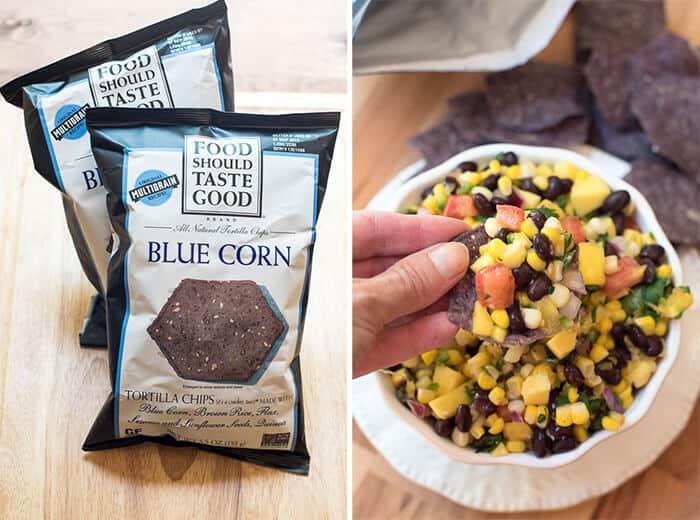 Mango Corn Salsa with Black Bean
