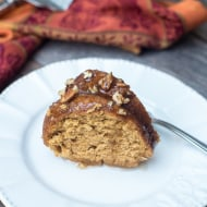 Sweet Potato Bourbon Bundt Cake