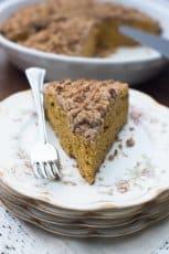 Pumpkin Pecan Crumb Cake