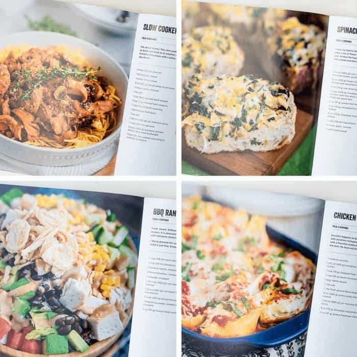 Images from the inside of 100 Creative Ways to Use Rotisserie Chicken in Everyday Meals