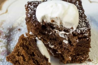 Mom's Old-Fashioned Gingerbread | From Valerie's Kitchen