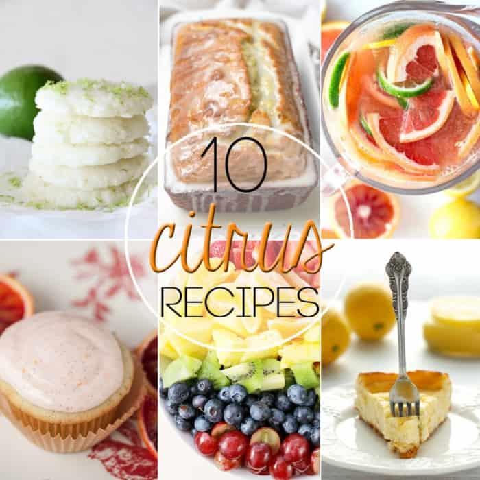 10 Delicious Citrus Recipes