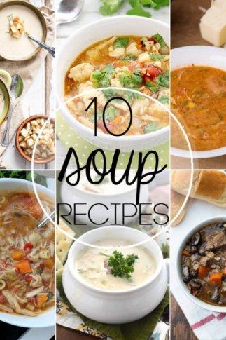 10 Favorite Soup Recipes