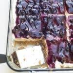 Easy Blueberry Cheesecake Dessert