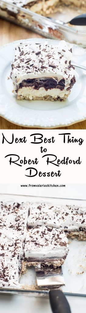Next Best Thing to Robert Redford Dessert