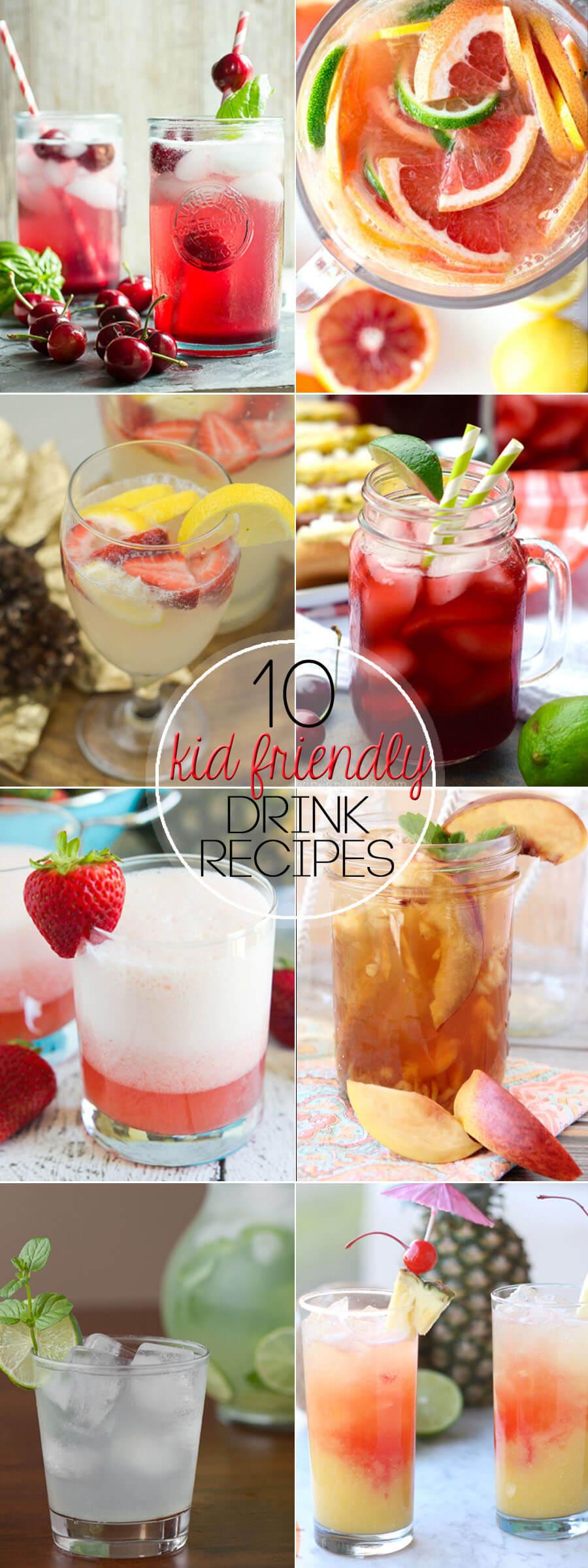 10 Kid-Friendly Summer Drink Recipes