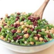 Homemade Three Bean Salad