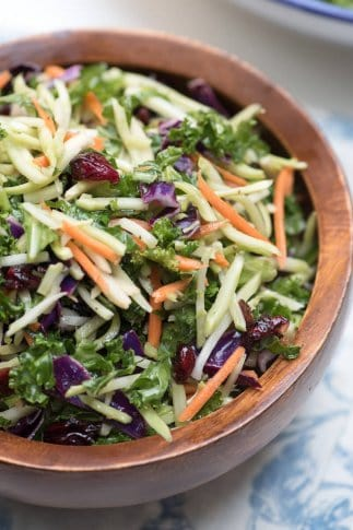5-Minute Broccoli Kale Slaw