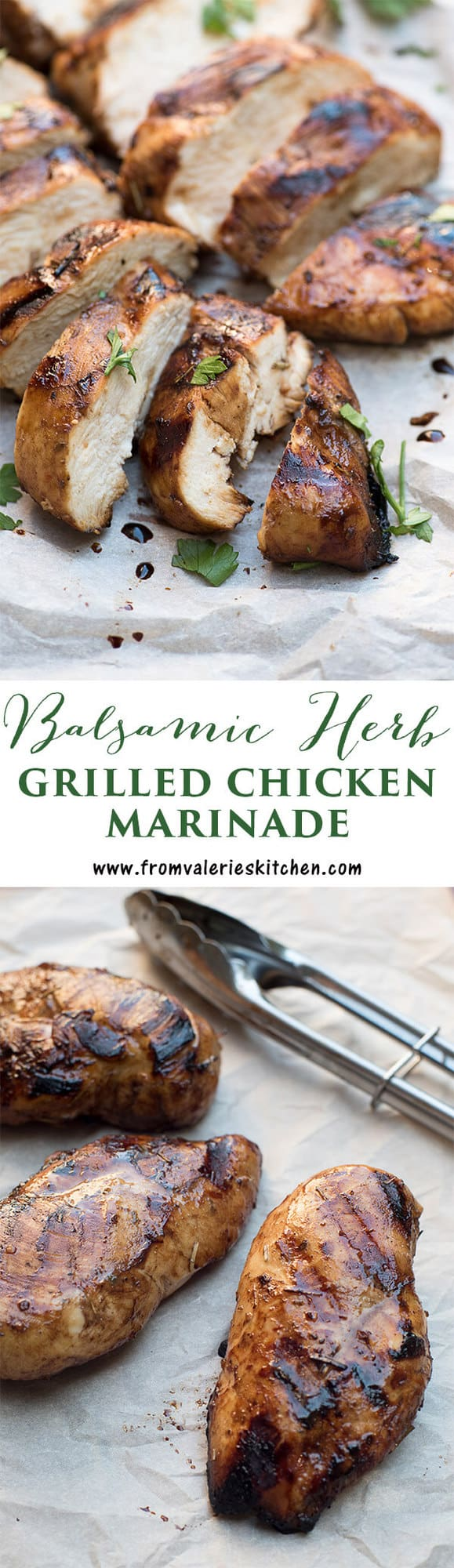 Balsamic Herb Grilled Chicken