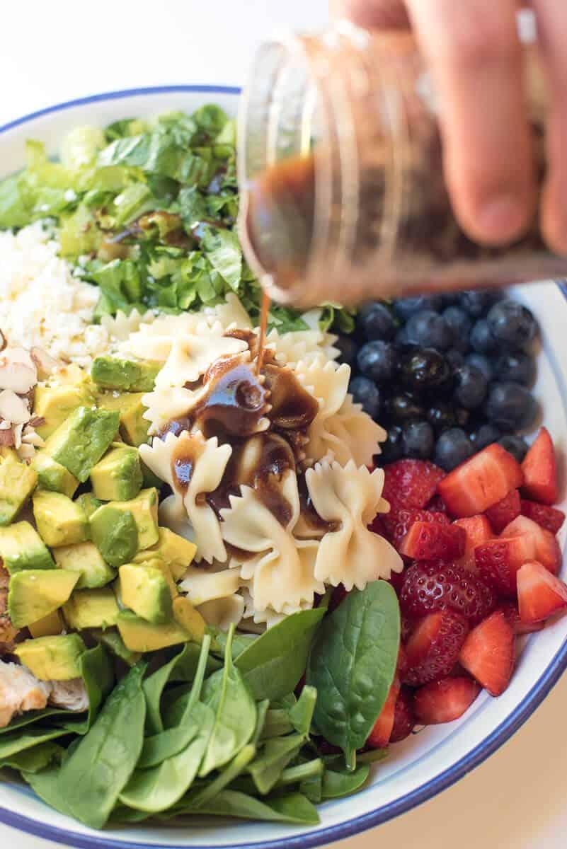 Chicken Berry Pasta Salad