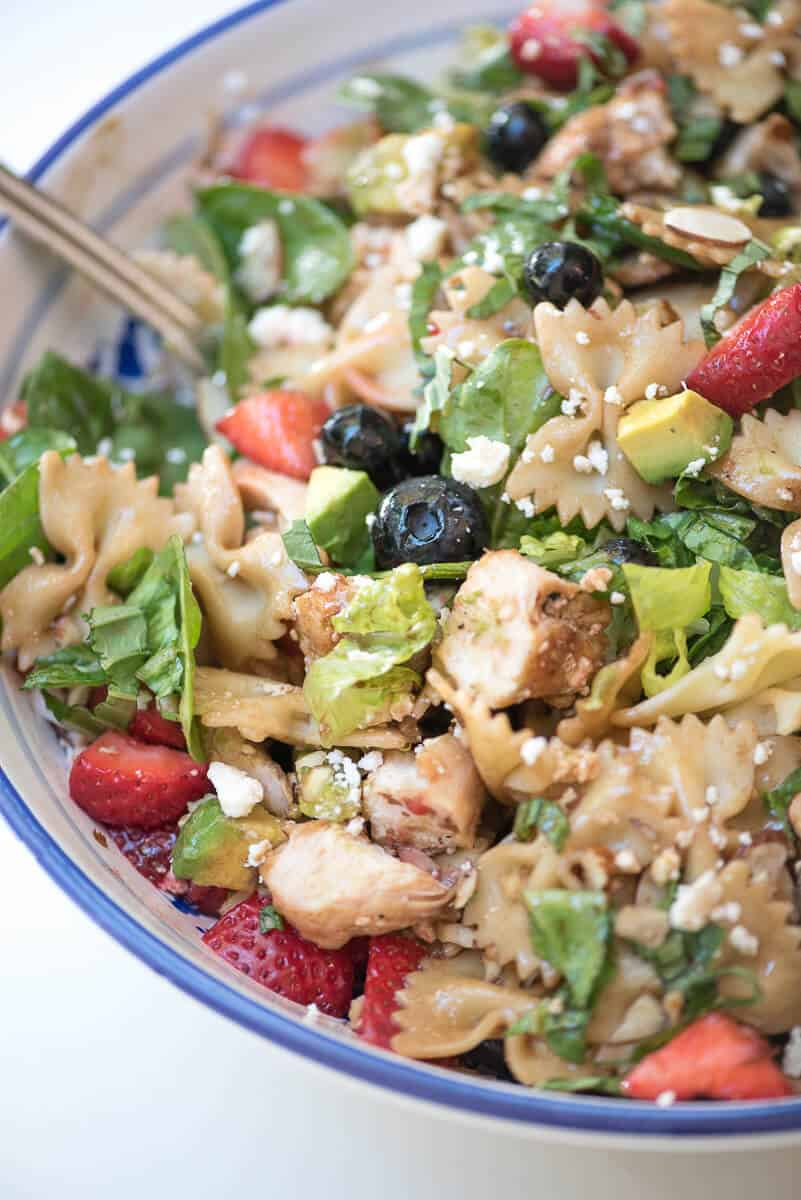 Chicken Berry Pasta Salad