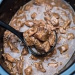 Slow Cooker Beef Tips with Gravey