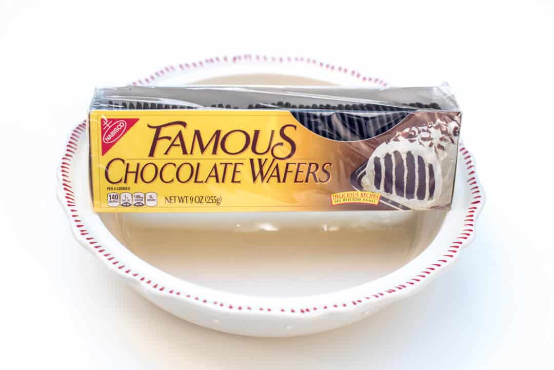 Nabisco Famous Chocolate Wafers.