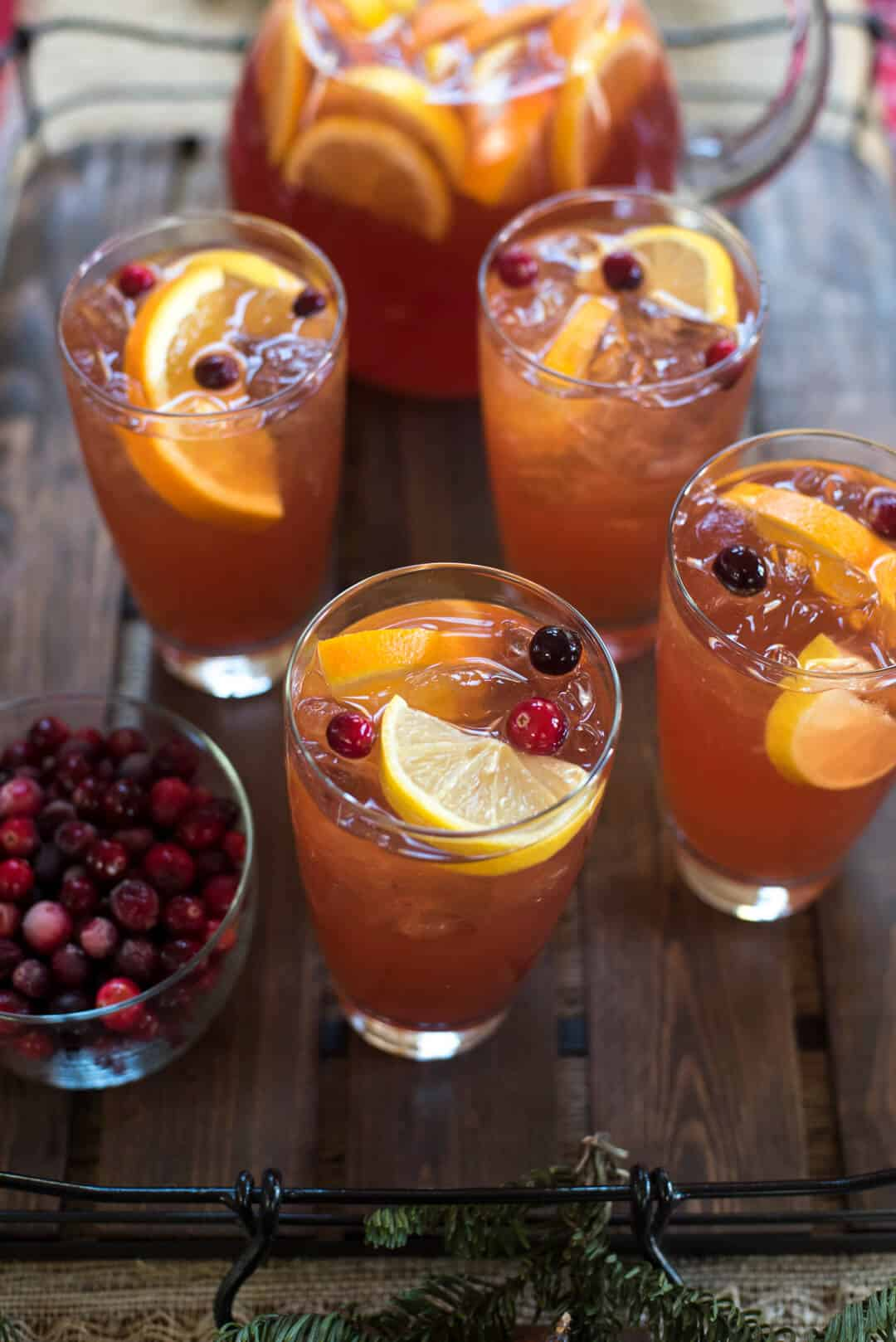 A fast, easy cold brew method creates this vibrant winter-inspired beverage. Brighten up your next winter meal with Cold Brew Cranberry Citrus Iced Tea.