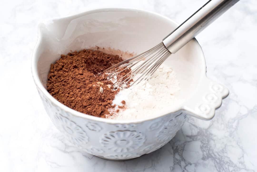 Fudgy One Bowl Brownies