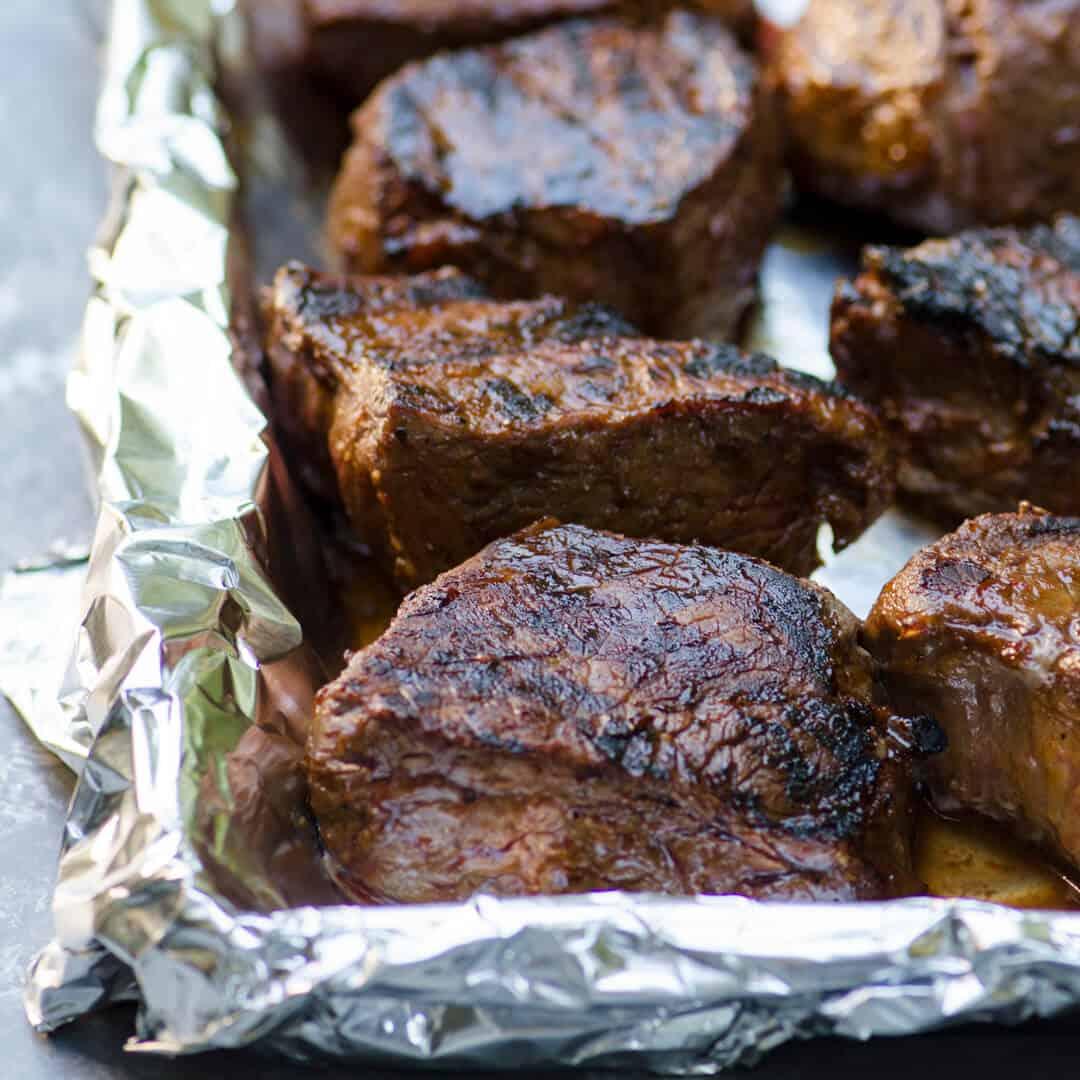 Grilled Steak Marinade | Valerie's Kitchen