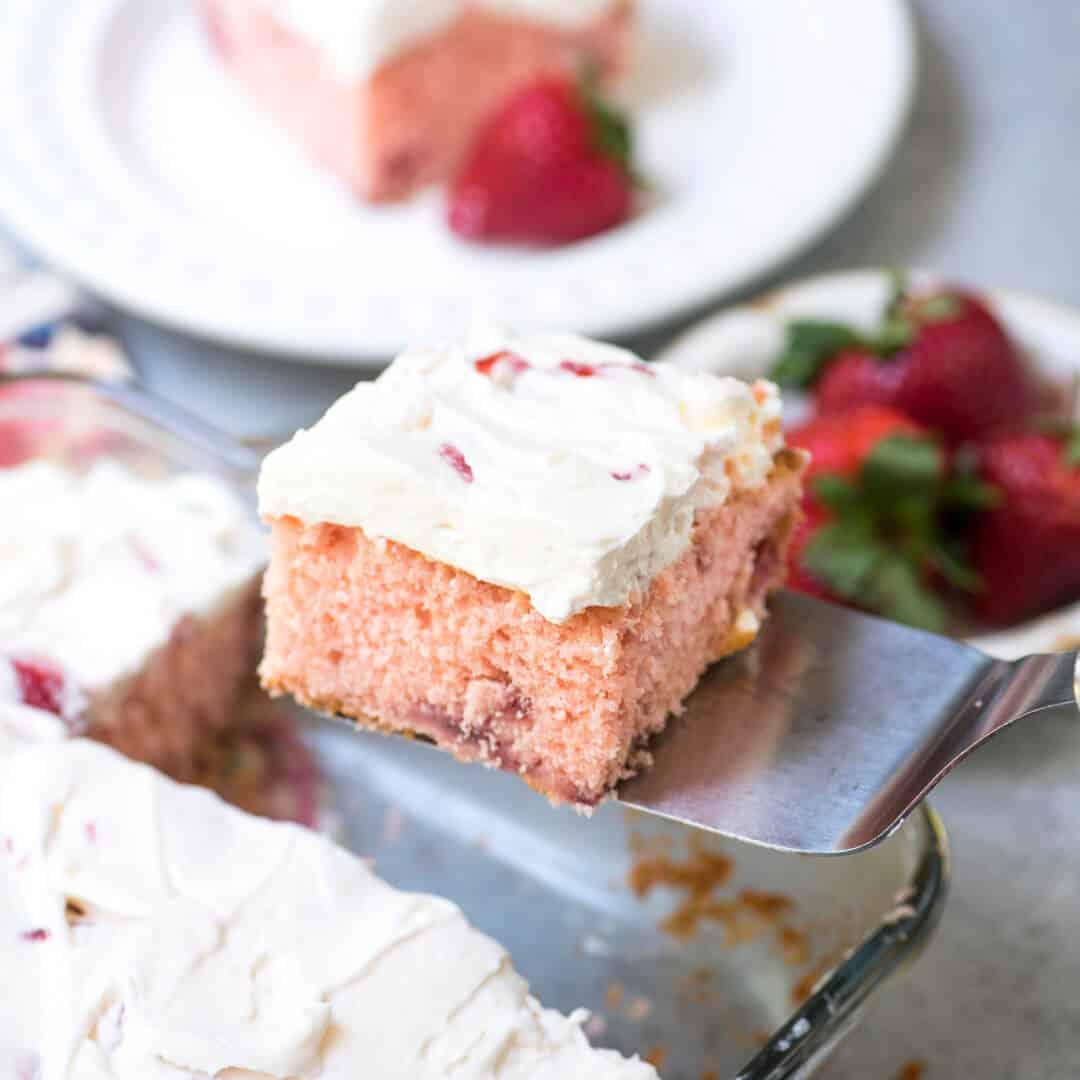 Valerie S Strawberry Love Cake
