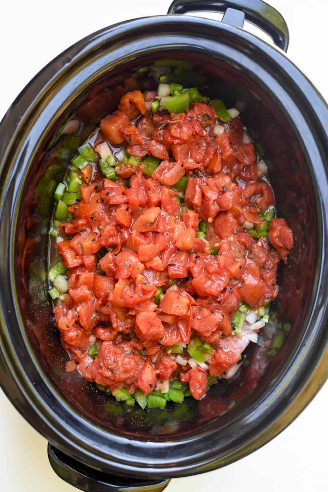Slow Cooker Shredded Mexican Pork with Beans