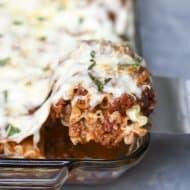 Meaty Lasagna Roll-Ups