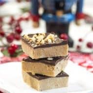 Peanut Butter Soda Cracker Fudge
