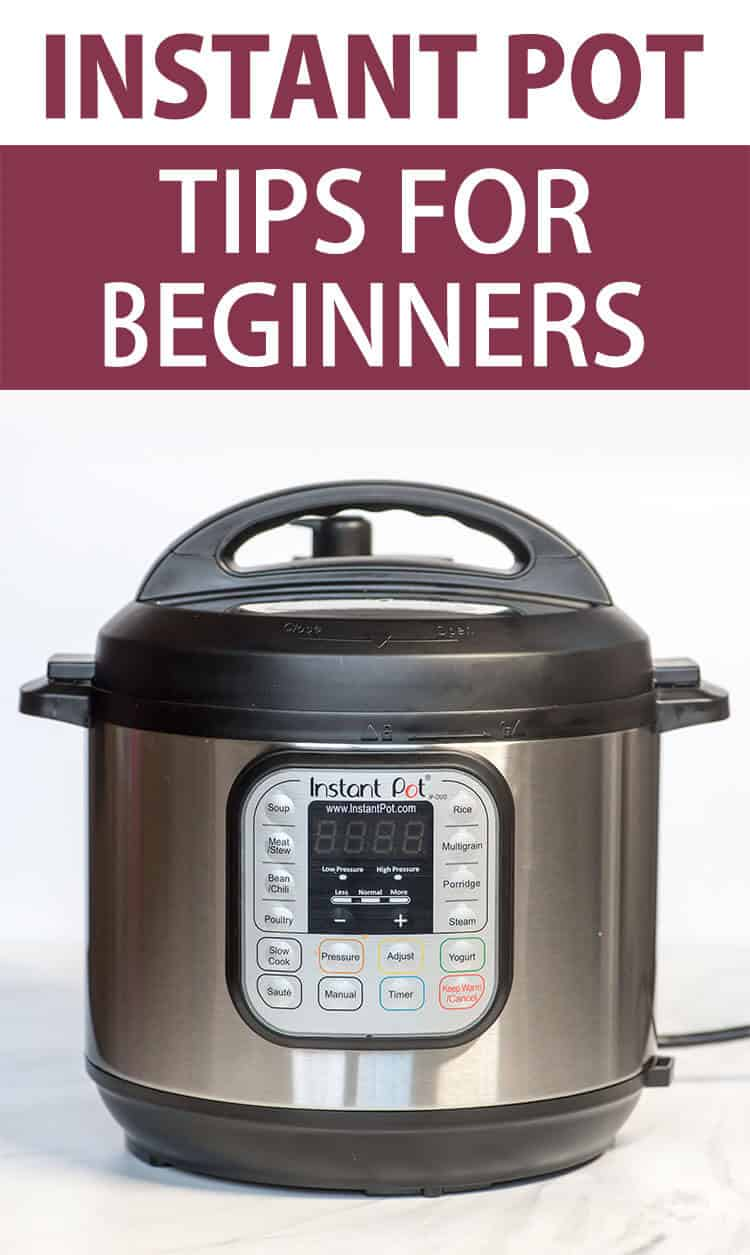 Your new Instant Pot may be intimidating if you've never had any experience with pressure cooking so I've pulled together this guide of Instant Pot Tips for Beginners to help you get started on this new cooking adventure!
