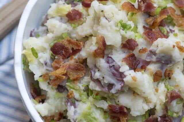 Irish Colcannon Potatoes